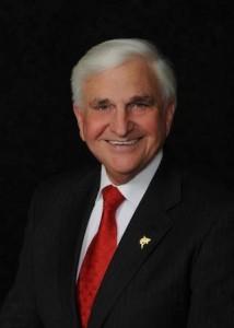 NSU President Dr. George L. Hanbury