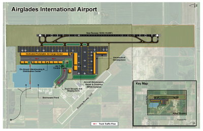 Airglades International Airport Site Plan