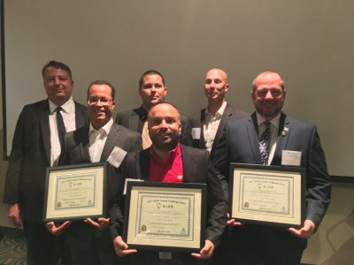 L-R: Dr. Fred Forgey, Jose Menezes, Dr. Thomas Wuerzer, Jesus Suarez, Charles Chapman (Hendry County Administrator), Michael Withrow (missing: Antoine Sayegh)