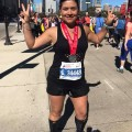 This was Dr. Bonilla's 4th full marathon and she will be running in the 2017 NYC Marathon in November.