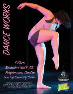 Dance Works Nov 3 & 4 2017