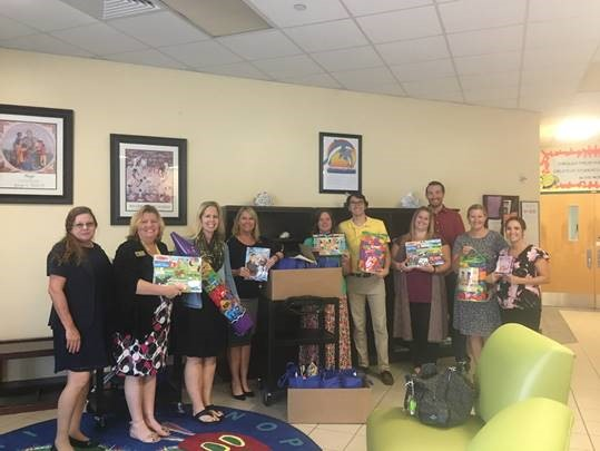 Fce S Hispanic Heritage Committee Collects School Supplies