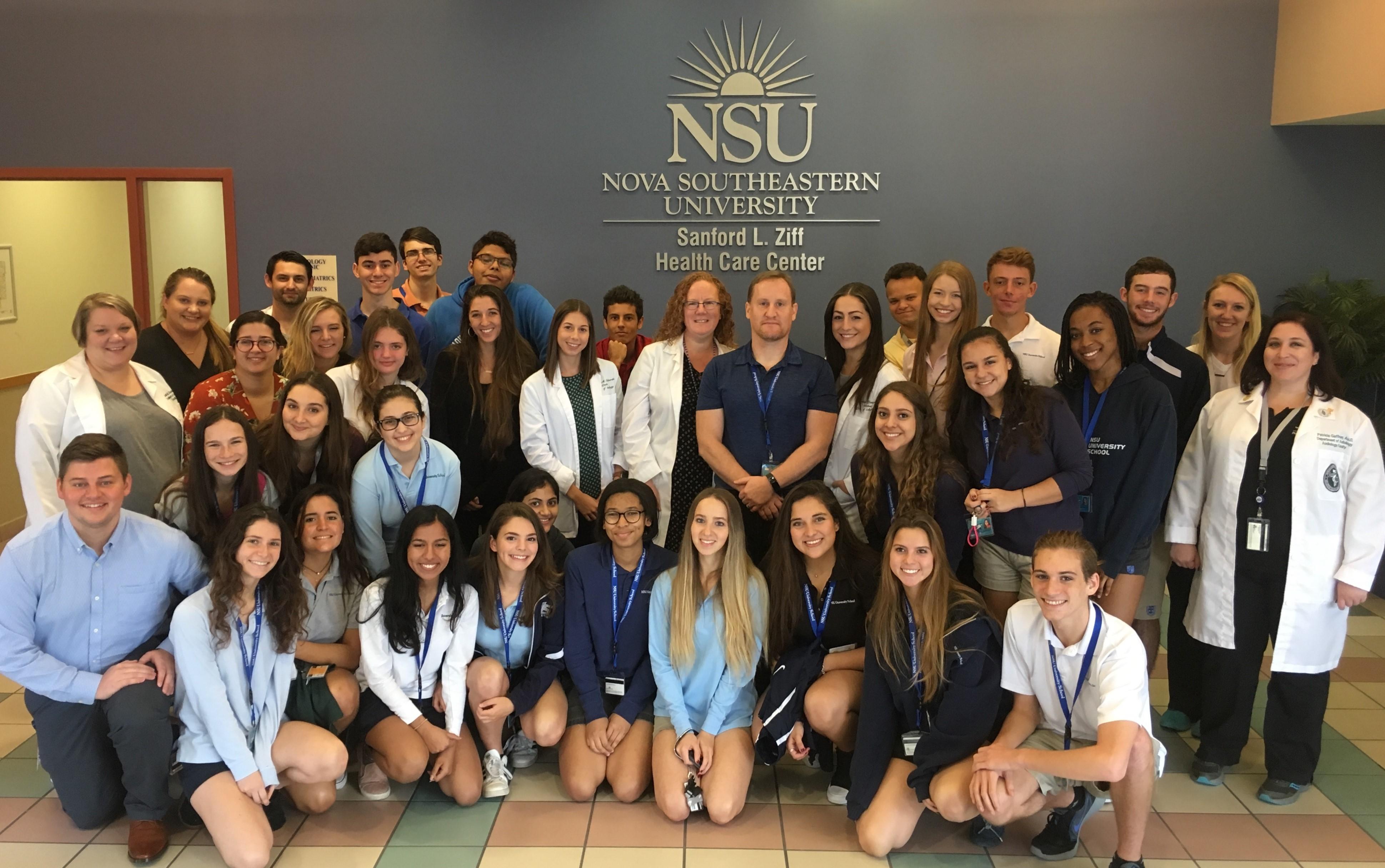 Nsu University School Ap Biology Students Visit Nsus Audiology