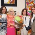 Dr. Deborah Ann Mulligan, Dr. Dana Wallace, Dr. Jennifer Pollak (winner of the gift basket) and Dr. Ramsey Pevsner