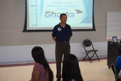 Dean Yang at CAHSS CSI ExEL Oct 16