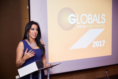 Dr. Farzanna Haffizulla receives 2017 Global Award 2