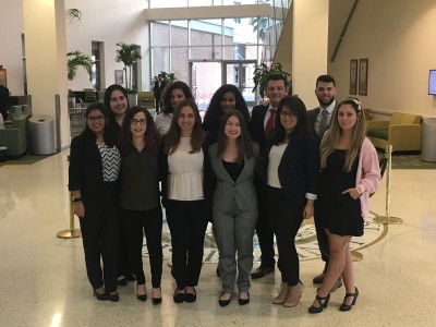 Mock Trial Participants at USF Matador Invitational 2017