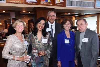 1.Gail Razook; Somya Lashkari; Fred Razook; Dr. Nell Lewis McGuire, NSU Trustee; Dr. Robert McGuire