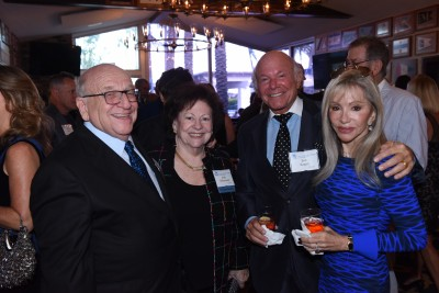 Dr. Barry Silverman, NSU Trustee, Vice Chair; Judy Silverman, Dr. Bob Kagan; Bonnie Barnett