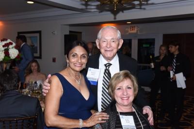 Dr. Pallavi Patel; Ronald Assaf, NSU Trustee, Chairman; Kathy Assaf