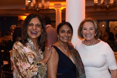 Ramola Motwani; Dr. Pallavi Patel; Carol Harrison Kalagher, NSU Trustee