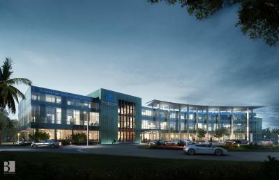 Architectural rendering of Nova Southeastern University's Tampa Bay Regional campus