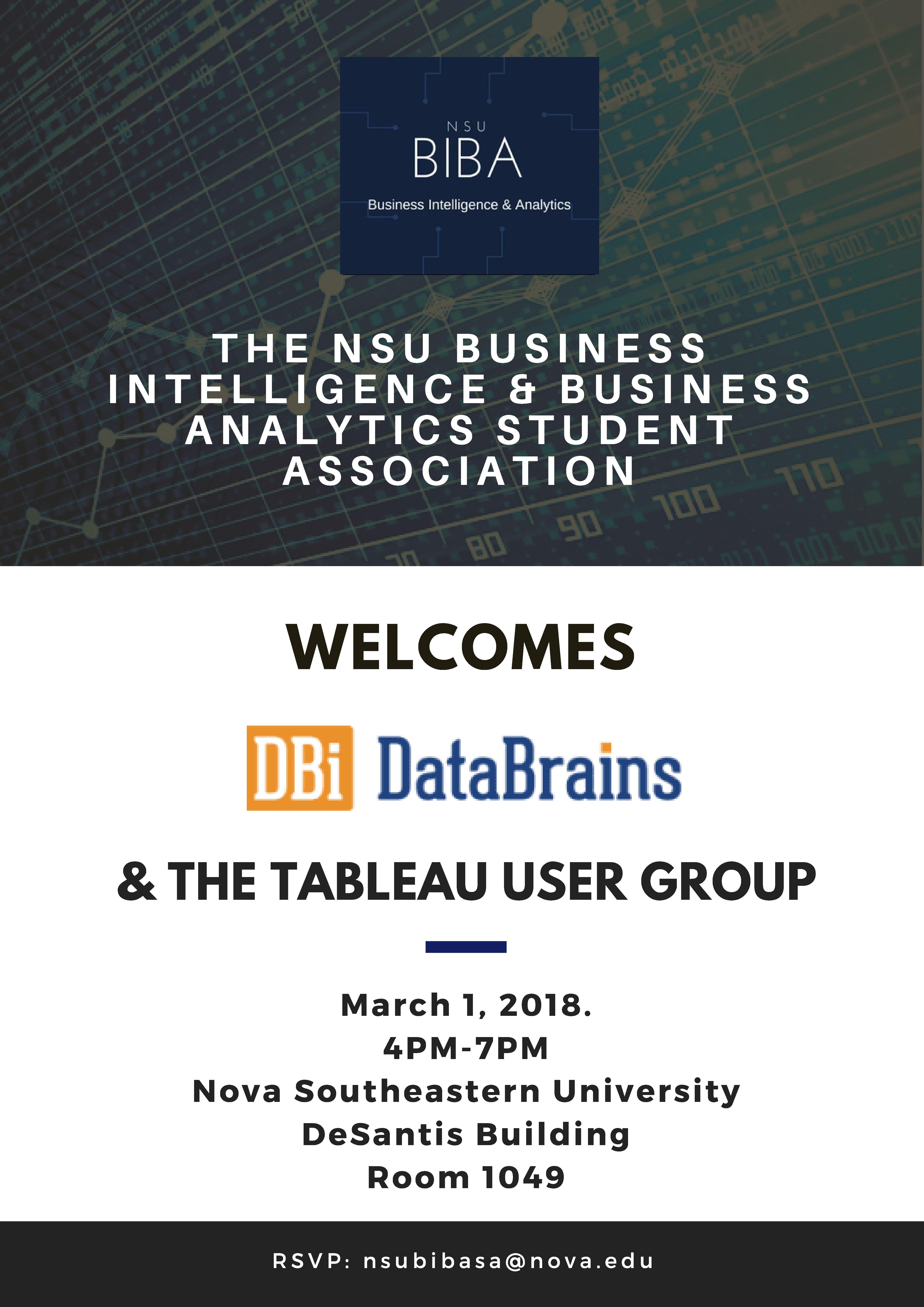 Business Intelligence & Business Analytics Student