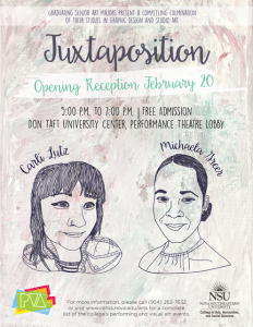 Juxtaposition Opening Reception Feb 20, 2018