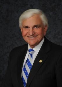 NSU President Dr. George Hanbury