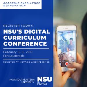 NSU Digital Curriculum Conference Registration