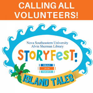 Storyfest 2019 Volunteers - SharkFins & SharkBytes