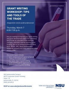 Jacksonville - Grant Writing Workshop